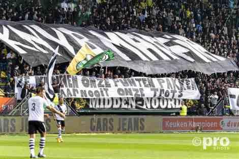 Actie bij ADO Den Haag - FC Den Bosch