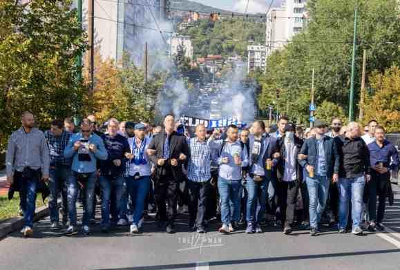FK Željezničar 100 jaar - In de Hekken - Manijaci