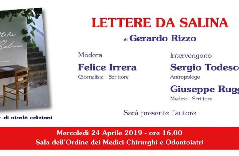 """""""Lettere da Salina"""" domani all'Ordine dei Medici di Messina"""