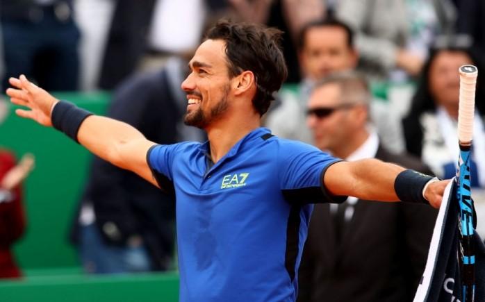 Tennis: Trionfo di Fabio Fognini a Montecarlo