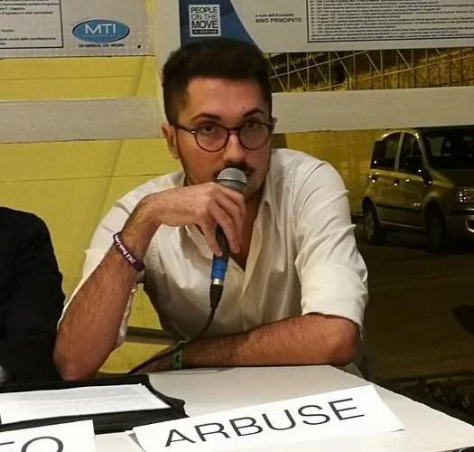 Il giovane Alberto Arbuse coordinatore per GN della città metropolitana di Messina