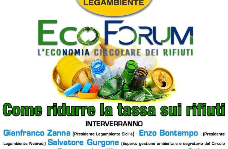 Eco Forum a Capo d'Orlando: Come ridurre la TaRi