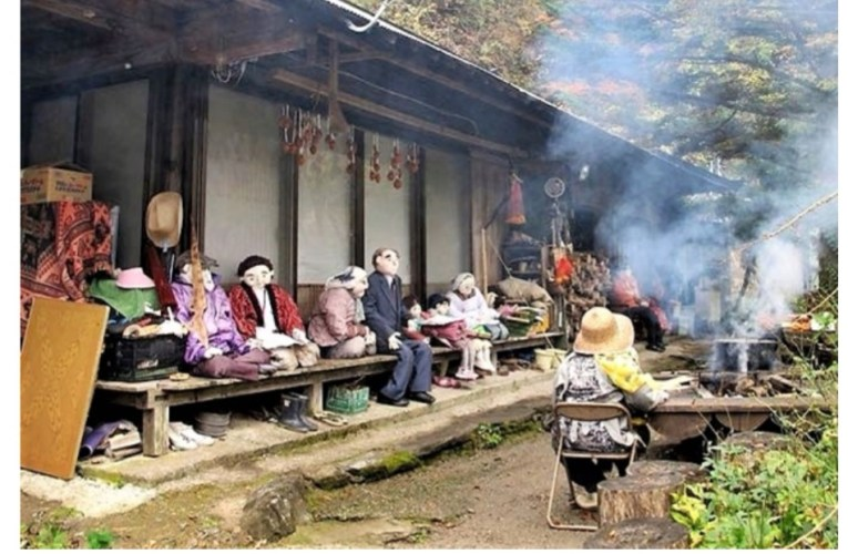 Nagoro, il villaggio abitato dalle bambole