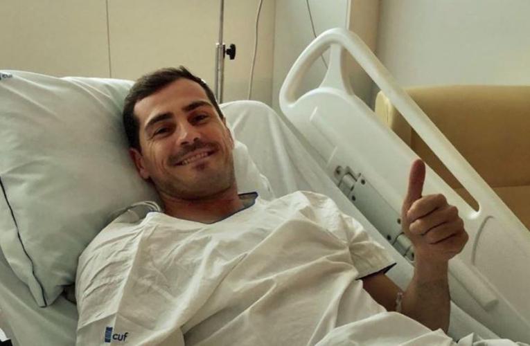 Casillas, infarto in allenamento, ricoverato.