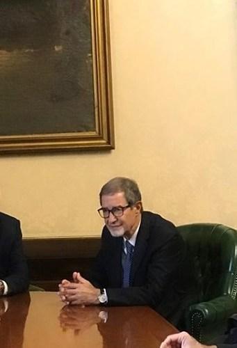 """""""Stare dentro l'Europa"""", il presidente Musumeci partecipa al Comitato europeo delle Regioni."""