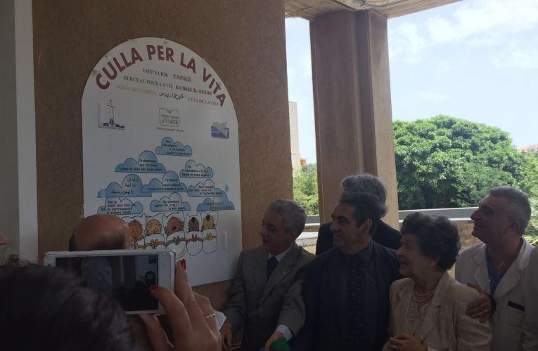 """""""Culla per la vita"""" per contrastare l'abbandono di neonati, la quinta in Sicilia."""