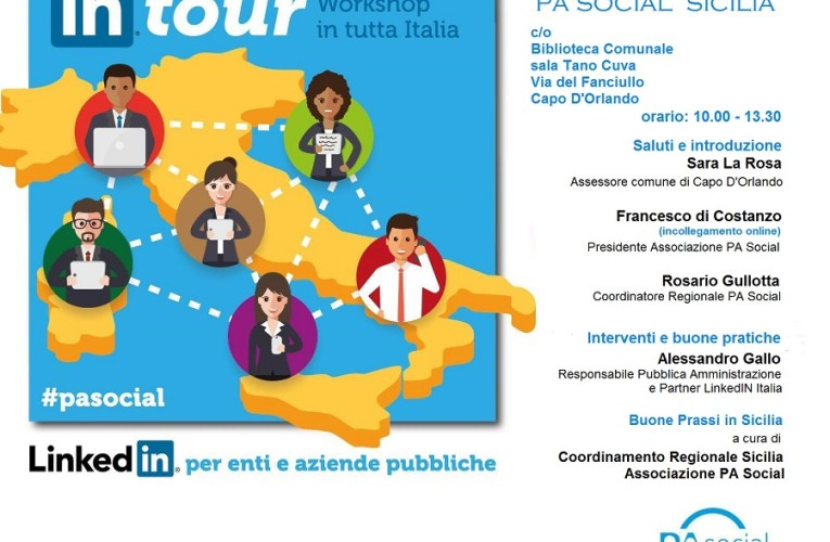 """""""PA Social in tour"""": venerdì tappa alla biblioteca comunale"""
