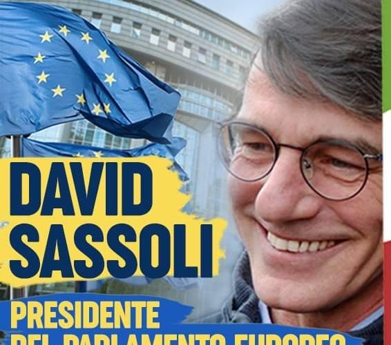 David Sassoli è il presidente del Parlamento Europeo