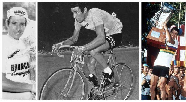 Ciclismo: è morto per un malore Felice Gimondi, il campione gentiluomo in cielo con la tripla corona.