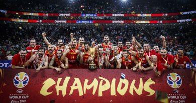 Finale 1°posto: Spagna Campione del Mondo! battuta l'Argentina, finale 3rzo posto alla Francia! sconfitta l'Australia.