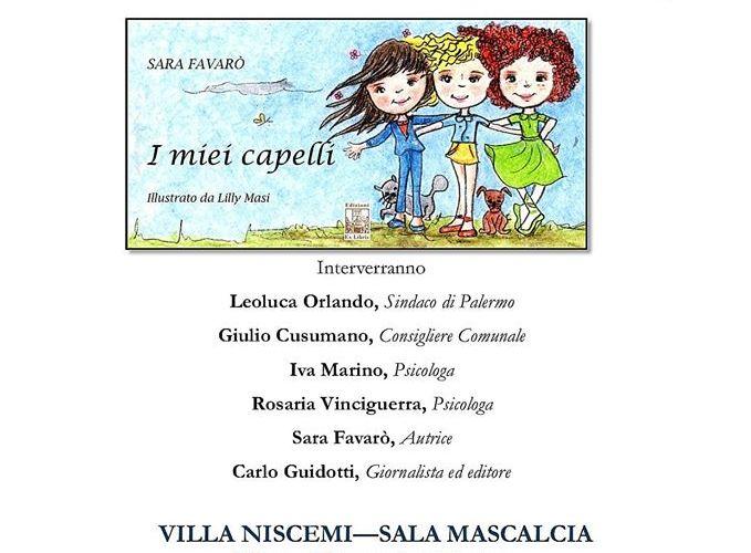 """""""I Miei Capelli"""" di Sara Favarò a Villa Niscemi"""