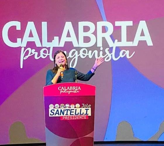 Jole Santelli, una berlusconiana presidente della Calabria