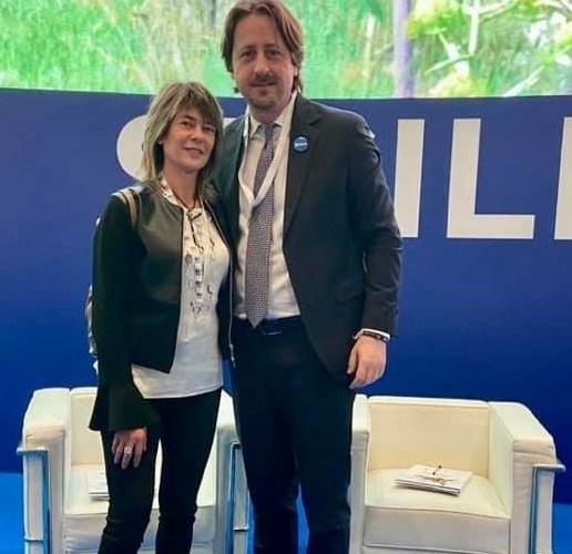 Elvira Amata e Manlio Messina (FdI) alla 40° ed. della Bit di Milano