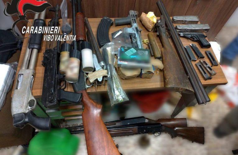 Ndrangheta, mini arsenale scoperto dai Carabinieri a Piscopio|VIDEO
