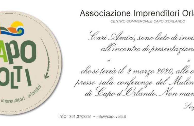 Capo d'Orlando (Me), l'associazione CAPOVOLTI, imprenditori orlandini, si riunisce.