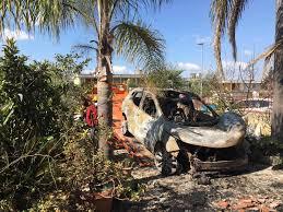 Auto del sindaco di Gibellina a fuoco per ritorsione, un arresto.