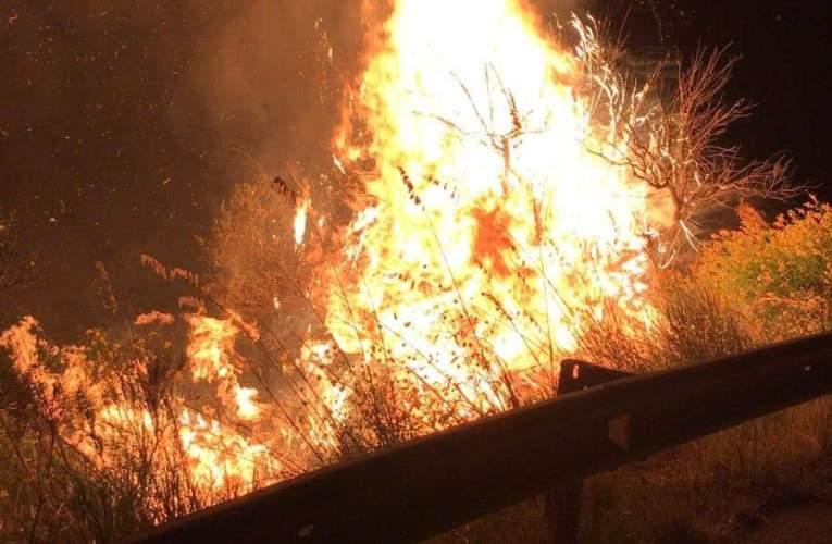 Torrenova(Me), incendio da domare