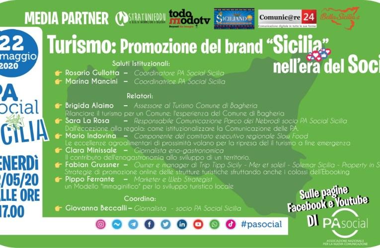 """TURISMO: PROMOZIONE DEL BRAND """"SICILIA"""" NELL'ERA DEI SOCIAL"""