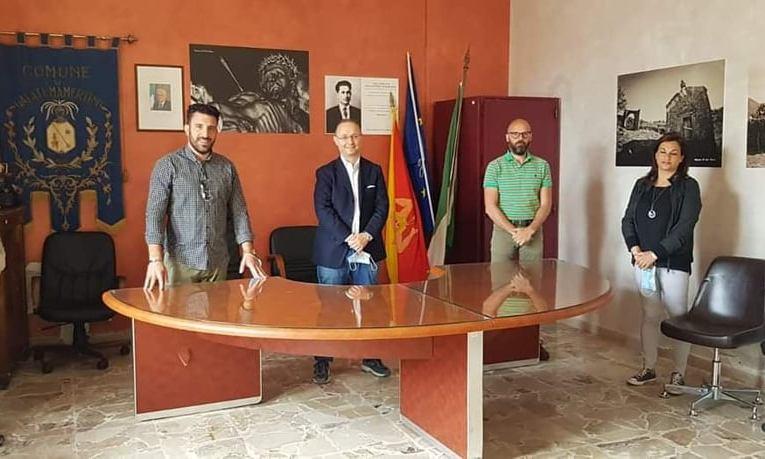Galati Mamertino: visita del neo Presidente del Parco dei Nebrodi Domenico Barbuzza.