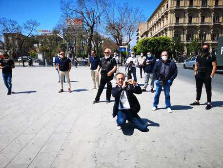 Oggi a Palermo protesta dei fotografi e dei videomaker