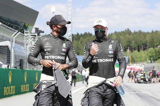 Gp di Stiria: doppietta Mercedes e primo acuto di Lewis Hamilton