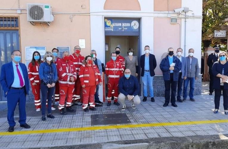 Inaugurata a Brolo la sede della Croce Rossa