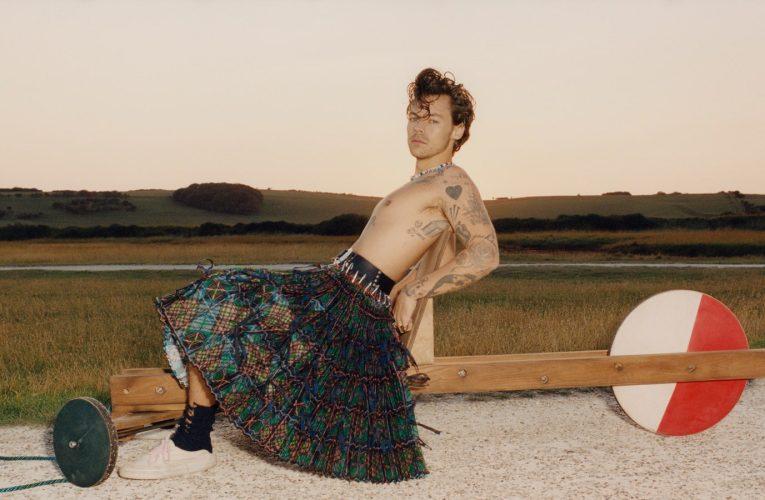 Harry Styles: primo uomo sulla copertina di Vogue…ed è già polemica