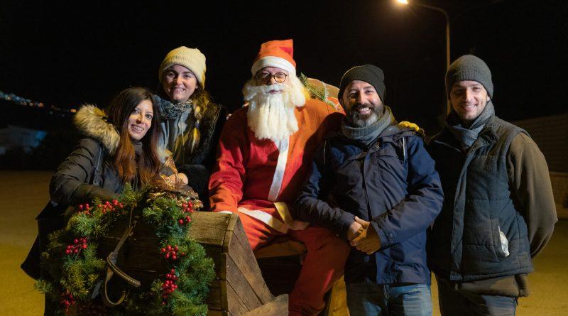 """""""Un insolito Natale"""", da una coproduzione di: Freeday di Davide Cuscunà e Alba Caliò, Calogero Ricciardello Videomaker e Domenica Scalisi"""