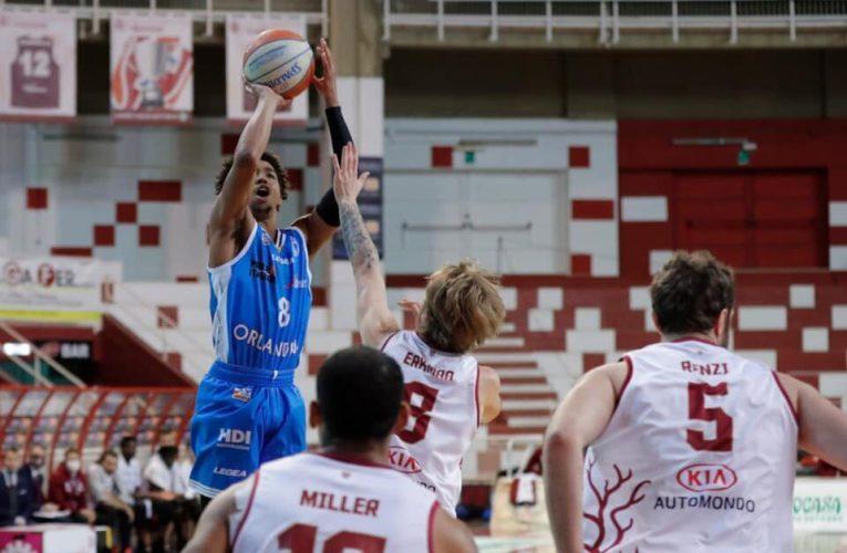 Il derby siciliano è dell'Orlandina! Arriva la terza vittoria consecutiva a Trapani per 87-83