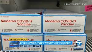 La California sospende il vaccino Moderna