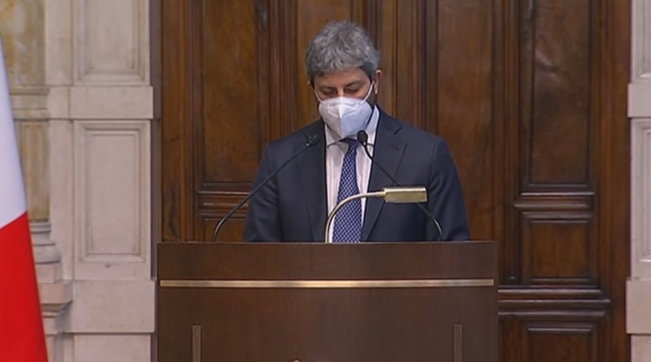 """Crisi di governo, news. Fico a Mattarella: """"Non c'è disponibilità per maggioranza""""."""