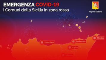 Sicilia da lunedì 19, possibile zona rossa. Oggi si decidono i nuovi colori delle regioni.