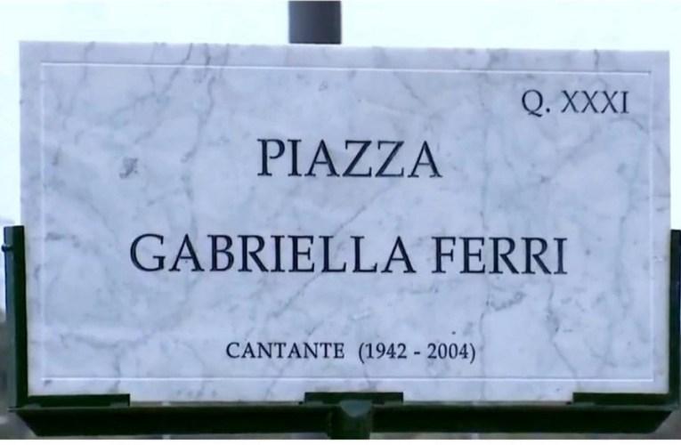 Roma intitola una piazza alla Ferri