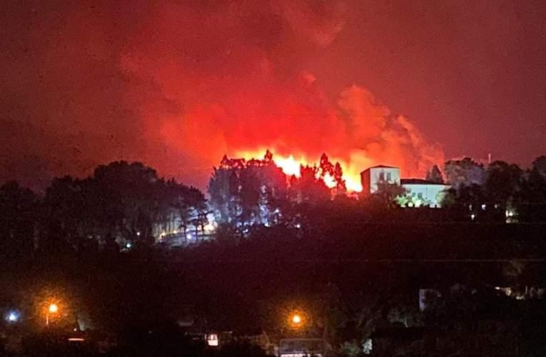Spaventoso incendio tra Madonie e Nebrodi, brucia Castel di Lucio, cenere fino a Milazzo. Brucia anche il Bosco di Amola  VIDEO E FOTO