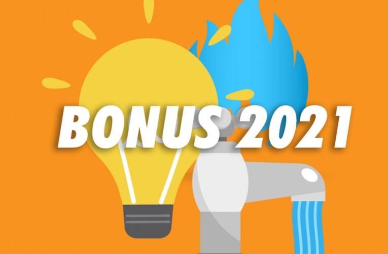 Bonus sociale elettrico 2021 e Bonus gas 2021: a chi spettano, come funzionano
