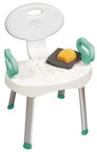 Carex EZ Bath & Shower Seat with Handles at IndeMedical.com