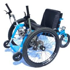 Drive Wheel Chair Round Table With 5 Chairs Mountain Trike All Terrain Wheelchair