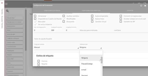 Diseñador de formularios electronicos eSignaDesigner