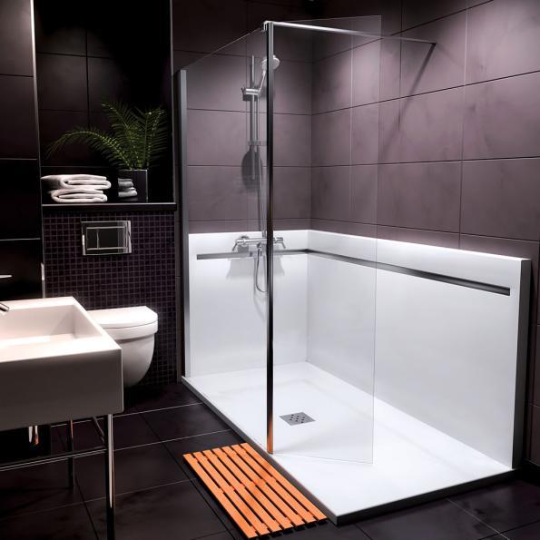 douche sur mesure a l italienne pour