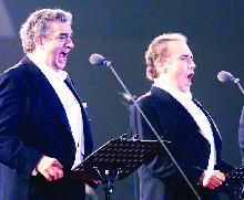 Povestea neştiută a lui  Domingo şi Carreras...
