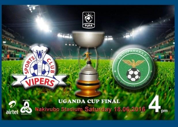 Uganda Cup graphic. FUFA GRAPHIC