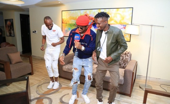 Diamond Platnumz Set To Perform Tonight At Comedy Store In
