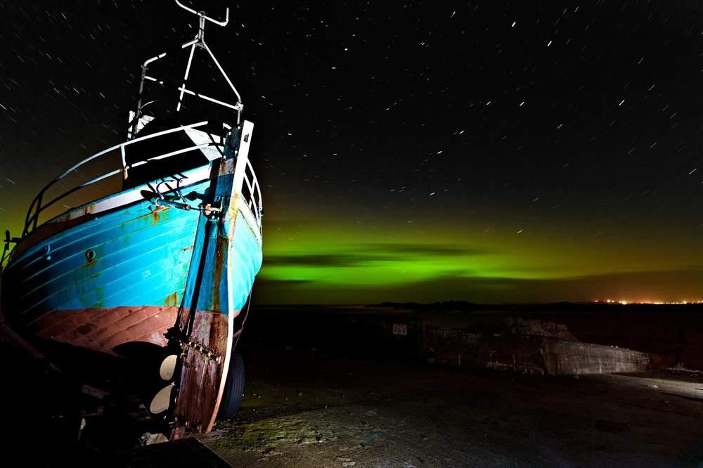 Malin Head Northern Lights