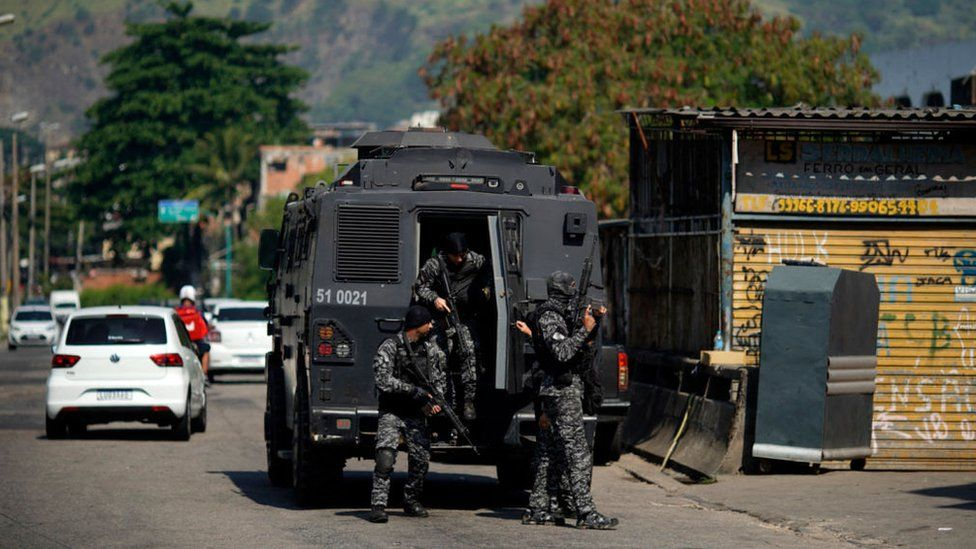 Several killed in Rio de Janeiro shootout