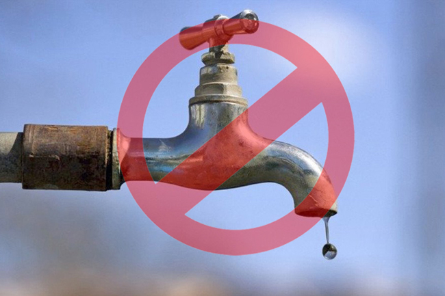 Water cut for parts in Gampaha Districts