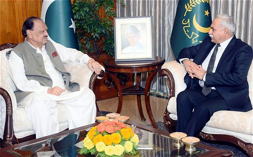 Pakistan President stresses enhancing cooperation with Sri Lanka in diverse sectors