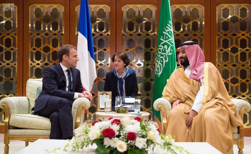 French President Macron makes surprise visit to Saudi