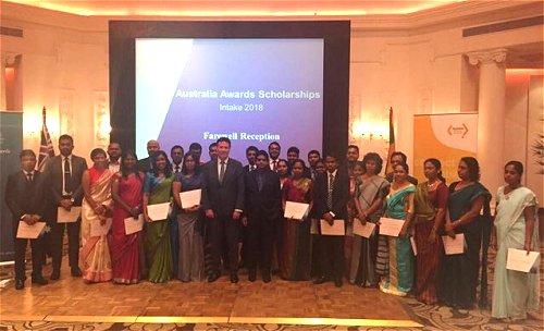 Australian High Commissioner congratulates Australia Awards recipients