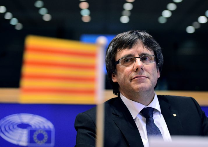 Spanish judge issues arrest warrant for ousted Catalan leader