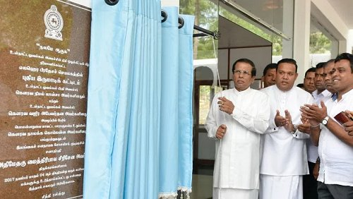 Sri Lanka President says government has implemented transparent development process across the country